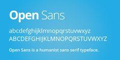 Open Sans - Google Web Fonts