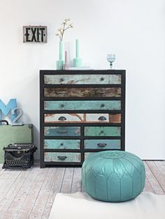gorgeous cabinet... now I know what to do w/ the baby dresser tucked away in the closet!!