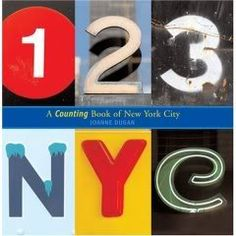 123 NYC - lovely children's counting book all from photos around New York | Joanne Dugan
