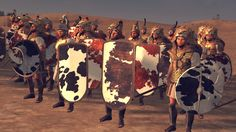 The Stream of Time: The Minoans: Their Polity - Mycenaean Eqeta, a screenshot from Total War: Age of Bronze mod