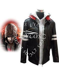 Lvcos Men's Costume Prototype Alex Mercer Jacket Cosplay Costume * Visit the image link more details.