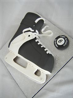 Hockey Skate Cake | Flickr - Photo Sharing!