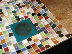 Vintage Georges Briard Mosaic Tile Tray