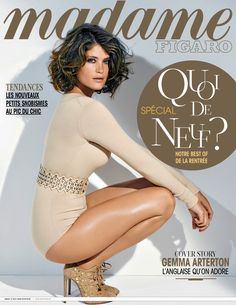 Madame Figaro (France) - August 22, 2014 - MadameFigaro-August222014 001 - Gemma Arterton Online Media