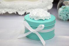 50 pcs Tiffany blue Iron Wedding Favor Candy Box by sweetywedding, $124.50