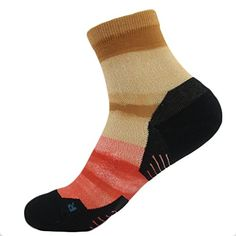 HUSO Mens Womens Juniors Colorful Unique Training Anklet Elastic Quarter Socks -- See this great product.