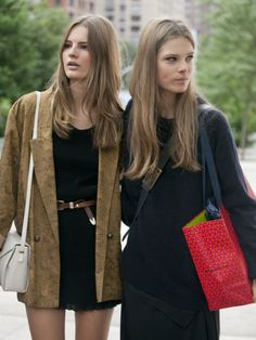 Model Street Style at NY Fashion Week Spring 2014 | Pictures