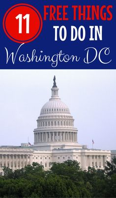 Traveling to Washington DC and looking for fun free things to do? From museums to national monuments, there are so many totally free activities in the nation's capital city. Find out 11 of the best, a (Top For Teens Mom) Camping Places, Places To Travel, Travel Destinations, Family Road Trips, Road Trip Usa, Travel With Kids, Family Travel, Budget Travel, Travel Tips