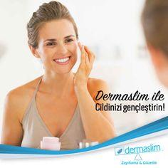 Cildinizi gençleştirmek için birçok yöntem var ! Siz de cildinizi gençleştirmek istiyorsanız Dermaslim'e gelin size uygun yöntemi beraber seçelim!  Detaylı bilgi için; ☎ 0 216 688 00 26 #dermaslim #atasehir #batıataşehir #myoffice #ciltbakimi #cilt #ciltgenclestirme #skincare #guzellik #estetik