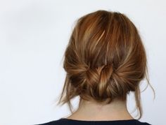 Upgrade your hairstyle quickly with this low braided bun hair tutorial.