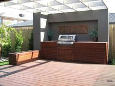 outdoor bbq areas - Google Search