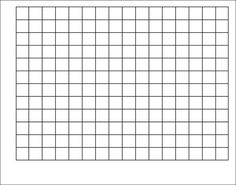 Wipe-Off Chart Graphing Grid 1-1/2 Inch Squares 22 x 28 | T-1092