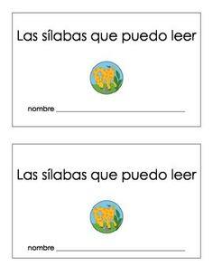 "Here is a sticker book for students to keep track of the Spanish syllables that they can read.  The ce, ge, ci, and gi syllables have stars next to them to remind the students that those syllables do not follow the rules.  The syllable ""quu"" is listed but crossed off to remind students that this syllable should never be used.When you print out one set of these pages, place the pages in order and cut horizontally in the middle."