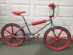 "GT Pro Series Early 90's BMX Bike Old School Race Bicycle 24"" Skyway Flite"