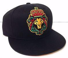 new REGGAE LION SNAPBACK HAT Black&Red/Green/Yellow Rasta Bob Marley Men/Women #Carbon #BaseballCap