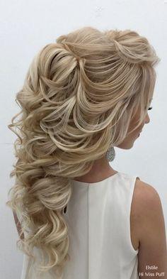 80 Gorgeous Wedding Hairstyles for Long Hair   I do   Pinterest ...