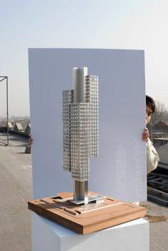 Incredible design, and fantastic model from OMAs ex partner Ole Scheeren (now buro Ole Scheeren)
