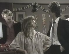 "Coronation Street Blog: A very Corrie Christmas - 1970s style  Gail and ""our Brian"" on the left"