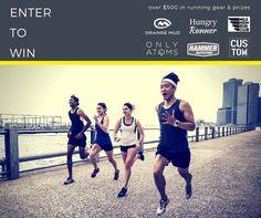 GIVEAWAY!  > > it's NYC marathon week & we're celebrating our hometown race with $500 in running prizes to giveaway. ENTER HERE:      via  @hungryrunner @orangemud @hammernutrition @milehighrunclub @onlyatoms @nycustompt  #running #marathon #nycmarathon #tcsmarathon #giveaway