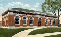 West Springfield Public Library, 1915