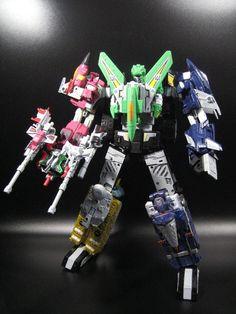 Check Out This Amazing Custom Combiner Wars/Unite Warriors Liokaiser