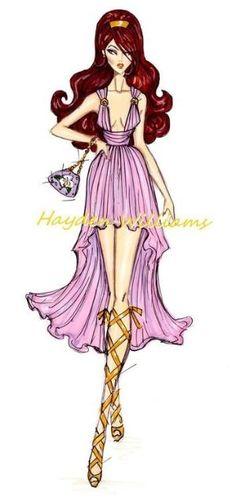 Disney fashion illustration by sheila.moose