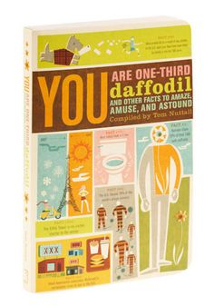 I WANT to read this book (so many random facts!)