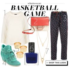 Score Slam Dunk Style With This Chic Basketball Game Outfit