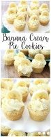 Banana Cream Pie Cookies - Butter With A Side of Bread