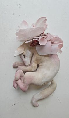 Mister Finch- Check out these extremely beautiful and charming soft sculptures he makes, Gorgeous.