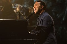 John Legend performs