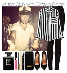 """""""At the Club with Captain Payne"""" by elise-22 ❤ liked on Polyvore featuring Topshop, Chicnova Fashion, Jeffrey Campbell, Napoleon Perdis, Ted Baker, Chanel, Dolce&Gabbana, OneDirection, 1d and club"""