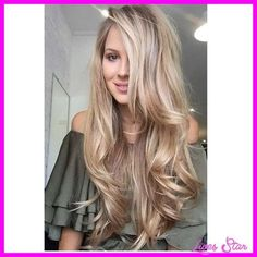 cool Dirty blonde hair with blonde highlights