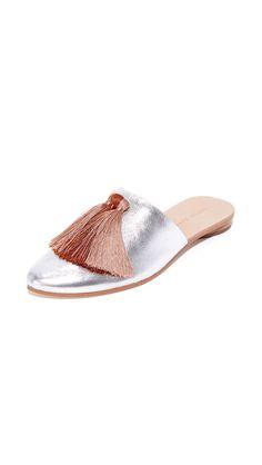 Winnie Tassel Slippers