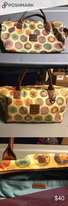 Dooney&Bourke Dooney&Bourke symbol bag. This bag was purchased from QVC. This bag has wear. Dooney and Bourke Bags Satchels