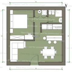 Not the actual plan for apartment but works