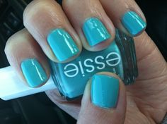 Essie where's my chauffeur    I love Essie nail polish :)