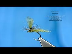 Tying the Olive Dynamite Harry with Davie McPhail - YouTube