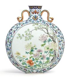 """6.7/"""" Collect Old Chinese Famille-rose Porcelain Ancient Figure Pot Tea Canister"""