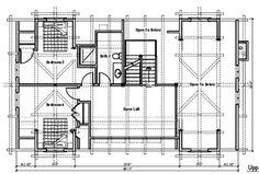 Floor Plan - Avalon Log Homes