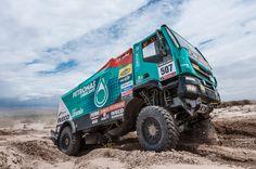 Dakar 2013:Iveco; De Rooy  Kuipers