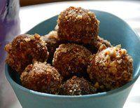Vegan Recipe: Salted Caramel Pecan Bliss Bites 20 big, soft dates, pitted (I like Medjool dates) 3/4 cup pecans 1/2 cup unsweetened shredded coconut 1/2 cup hemp seeds  1 teaspoon vanilla extract 1/2 teaspoon sea salt