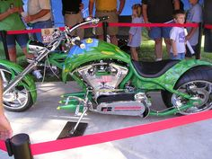 Orange County Choppers Farm Bureau Chopper, 2007 Iowa State Fair