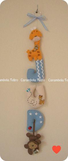 {{ Jud }} by carambola arte em feltro, via Flickr