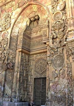 Great mosque of Divriği, Sivas province in central eastern Turkey.  Fifteen sites in Turkey now on UNESCO World Heritage List