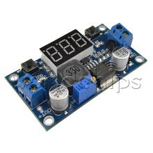 DC-DC LM2596 LM2596S LED Voltmeter Module Adjustable Step Down Power Supply Modules With 3 Digit Display for Arduino(China (Mainland))