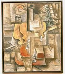 Image result for Cubism violin and grapes