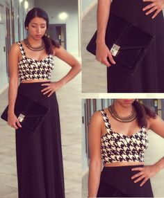 Black & White (by Ana A) http://lookbook.nu/look/4129384-Black-White