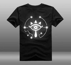 Fair price 2017 Game The Legend of Zelda Wii U Breath of  the wild Eye T-shirt  reflect light T-shirt Summer Cotton Short Sleeve Tees just only $14.11 with free shipping worldwide  #tshirtsformen Plese click on picture to see our special price for you