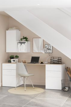 Home Fashion, Office Desk, Sweet Home, Room Decor, Bedroom, House Styles, Room Ideas, Gardens, Decorations